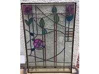 Double Glazed Lead Stained Glass Window Panels