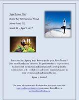 March 2017 Yoga Retreat