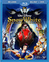 Snow White & The Seven Dwarfs blu ray