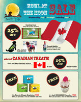Canada Day Pet Items Sale