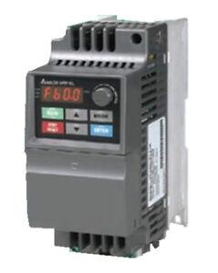 Delta inverter vfd drive vfd007el21a 1phase 220v 0 75kw for Vfd for 1hp motor