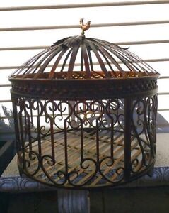 Outdoor Decor Metal/Iron Urn/Planter ~ New! ~ $65