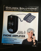 NEW- Innovative techonolgy - Golden Solutions Phone Amplifier