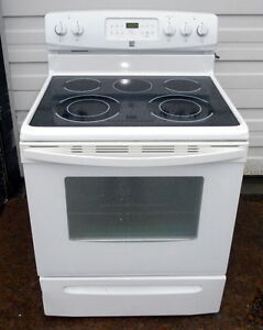 Kenmore Smooth top Stove- Excellent condition, Self-Clean