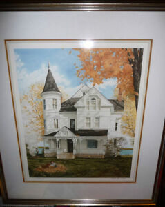 "Walter Campbell ""Autumn Smoke"" Signed, Numbered 30/350 Vinta"