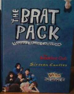 The Brat Pack: Movies & Music Collection + Pretty in Pink Dvd