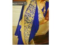 High Quality Blue saree