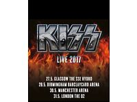 Kiss Tickets x2 Face Value - Glasgow Seated