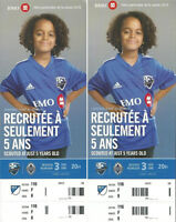 -----MONTREAL IMPACT vs Vancouver FC Tickets-----(Behind Net)
