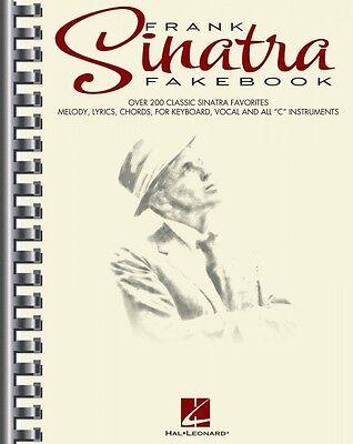 The Frank Sinatra Fake Book Sheet Music Real Book Fake Book NEW 000240301