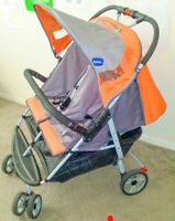 Double strollers in excellent condition