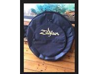 """Zildjian TGIG Deluxe Cymbal 22"""" Case Gig Bag With Logo"""