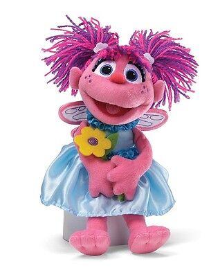 Gund Kids Sesame Street Plush Abby Cadabby With Flowers  New