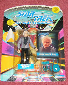 Star Trek Next Generation Admiral McCoy figure in package