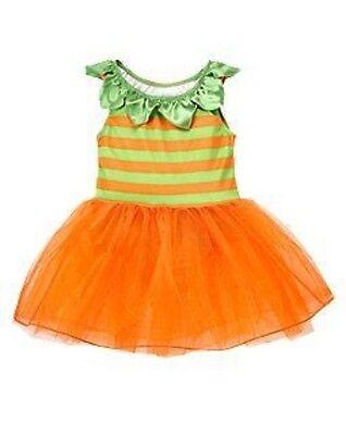 GYMBOREE PUMPKIN FAIRY DRESS HALLOWEEN COSTUME 6 12 18 24 4T 5T (Halloween Kostüme 5t)