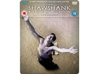 The Shawshank Redemption - Steelbook Edition (Blu-Ray and DVD) Blu-ray