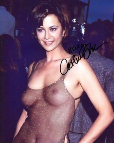 REPRINT - CATHERINE BELL Hot Sexy Autographed Signed 8 x 10 Photo Poster RP
