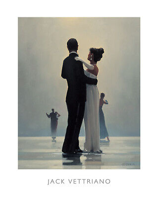 Dance Me to the End of Love by Jack Vettriano Beach, Dance Print (Love Me To The End Of Love)