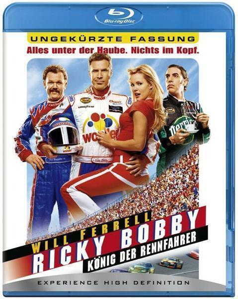 RICKY BOBBY, König der Rennfahrer (Will Ferrell) Blu-ray Disc NEU+OVP