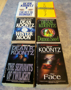 PAPERBACK  DEAN KOONTZ BOOKS Kingston Kingston Area image 5