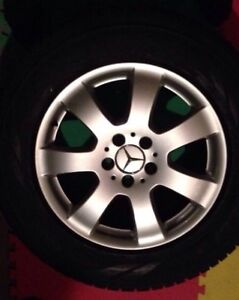 Mercedes Winter Tires and Rims