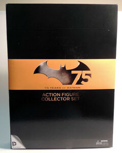 75 Years of BATMAN Action Figure Collector Set at JJ Sports