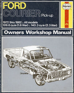 Ford Courier Pick up truck Manual