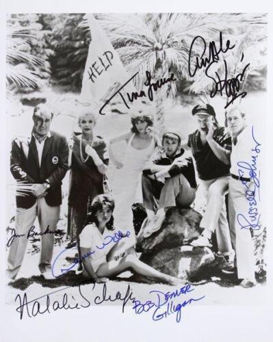 REPRINT - GILLIGANS ISLAND Cast Autographed Signed 8 x 10 Photo RP