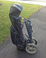 Complete Wilson Golf Set, Rampion Bag and cart