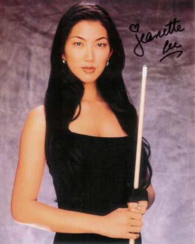REPRINT -  JEANETTE LEE Pool Billiards Hot  8 x 10 Photo Poster RP