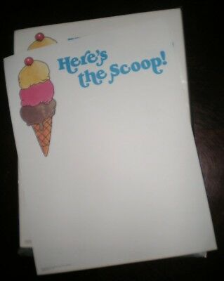 Novelty Fun Letterhead Heres The Scoop 50 Sheets