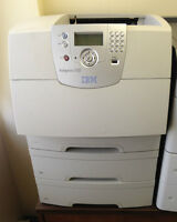 4 Monochrome laser network printers for business
