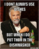 Students - Part Time Dish Washer - Live the Dream!