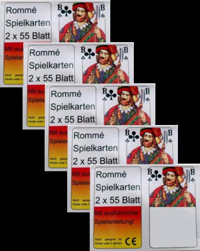 Romme Karten FГјr Senioren