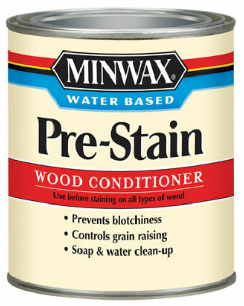 Minwax 618514444 Water Based Pre-Stain Wood Conditioner, 1 Qt