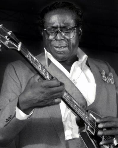 ALBERT KING Blues Guitar B&W Glossy 8 x 10 Photo Poster Print Man Cave