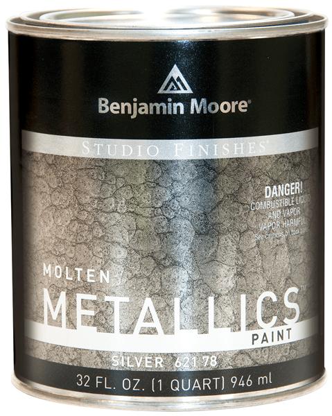 Benjamin Moore Molten Metallics Quart (621) — All Colors Available Building & Hardware