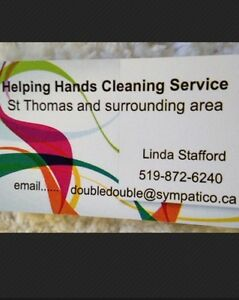 Helping Hands Cleaning Service..St Thomas area London Ontario image 1