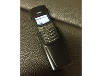 Very Rare Titanium Nokia 8910i Mobile Phone Unlocked Good Condition Can Deliver