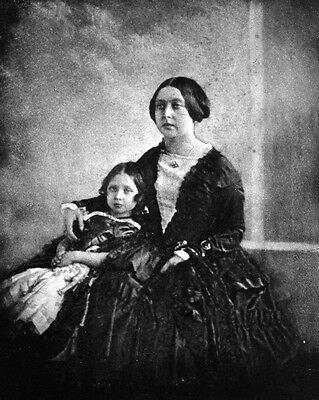 New 8x10 Photo: Young Queen Victoria with the Princess Royal, c. 1844