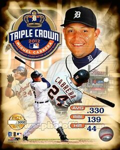 Miguel-Cabrera-Triple-Crown-Winner-Detroit-Tigers-MLB-8X10-Baseball-PHOTO-5000