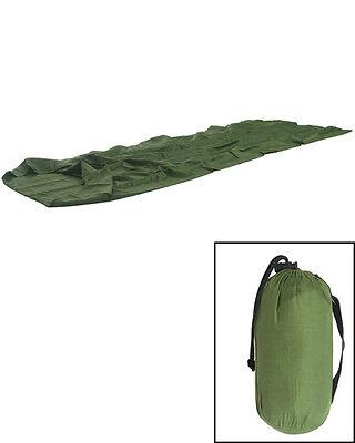 Innenschlafsack oliv, Camping, Zelten, Schlafen, Outdoor  -NEU-