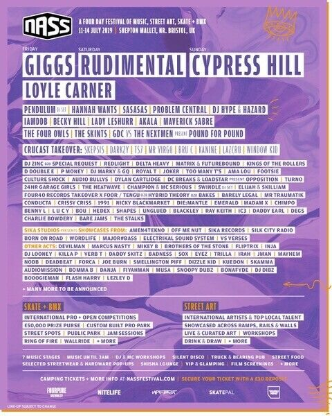 4 day Nass ticket bought for £150 selling for £110 ONO | in Plymouth, Devon  | Gumtree