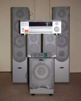Pioneer Receiver and 5.1 Speaker Set for Home Cinema or Music