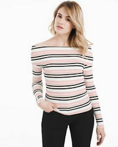White House Black Market off the shoulder sweater new never worn