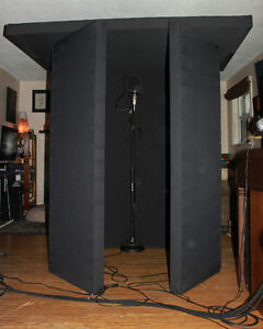 "7' Acoustic Panels (Makes Portable ""Stonehenge"" Vocal Booth)"