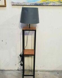 Home Nomad Shelf Floor Lamp - Black No020210