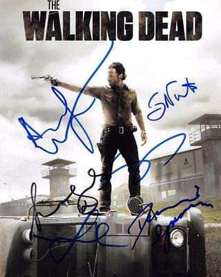 REPRINT - THE WALKING DEAD Cast Autographed Signed 8 x 10 Photo Poster