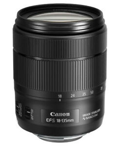 Lentille Zoom Polyvalent Canon EFS 18-135mm USM IS Nano