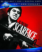 Steelbook SCARFACE Blu-ray / Dvd 2011 2-Disc Set Limited Edition